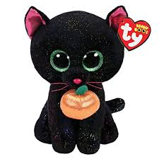 PELUCHE TY  POTION B CAT PUMPK  15 CM