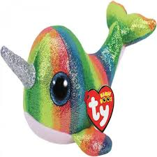 PELUCHE TY  NORI NARWHAL  15 CM