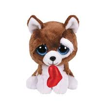 PELUCHE TY SMOOTCHES DOG 15 CM