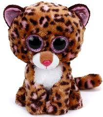 PELUCHE TY PATCHES LEOPARD 15 CM