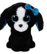 PELUCHE TY TRACEY DOG   15 CM