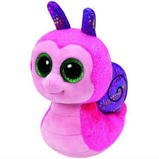 PELUCHE TY SCOOTER-SNAIL 15 CM