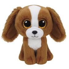 PELUCHE TY BOOM BOOM TALA BROWN DOG 15 CM