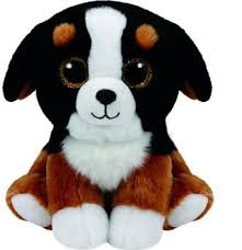 PELUCHE TY BABIES ROSCOE-DOG 15 CM