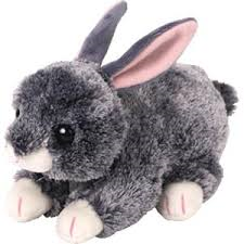 PELUCHE TY SMOKEY G. RABBIT  15 CM