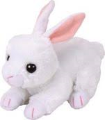 PELUCHE TY COTTON W RABBIT  15 CM