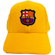 GORRA  FCB 19-20  2ª EQ YELLOW  JUNIOR