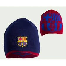 GORRO LANA  F.C.B. REVERS JUNIOR