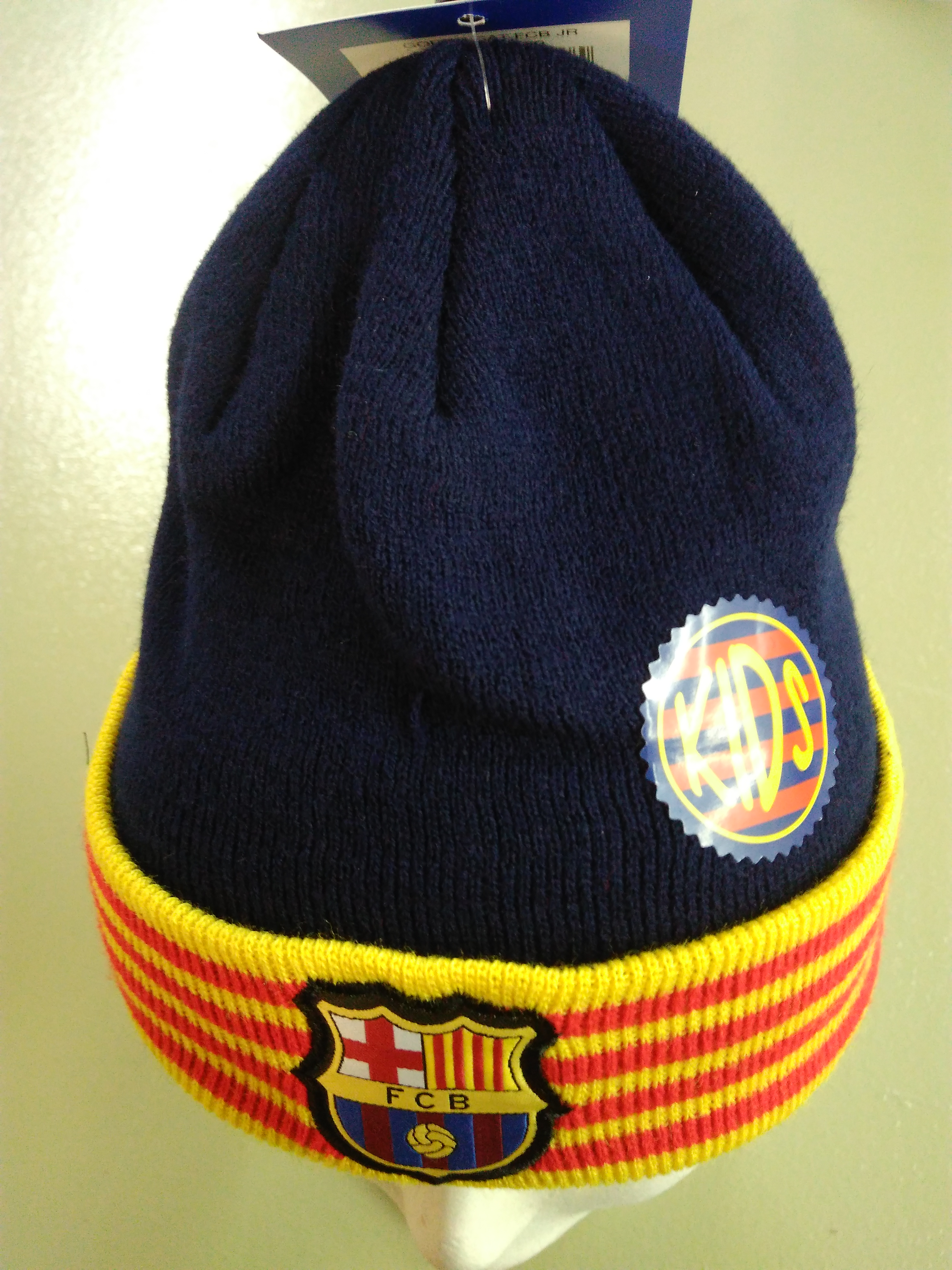 GORRO LANA  F.C.B. CAT  JUNIOR