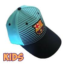 GORRA  FCB 17-18 2ª EQ BLUE JUNIOR