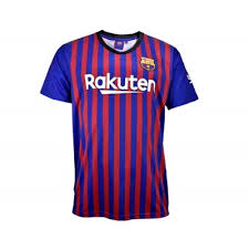 CAMISETA 18-19  FCB 1º EQ MESSI T-S