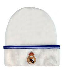 GORRO LANA  R.M.  Nº1  BLANCO JUNIOR