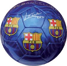 BALON MEDIANO FCB AZUL BRILLANTE