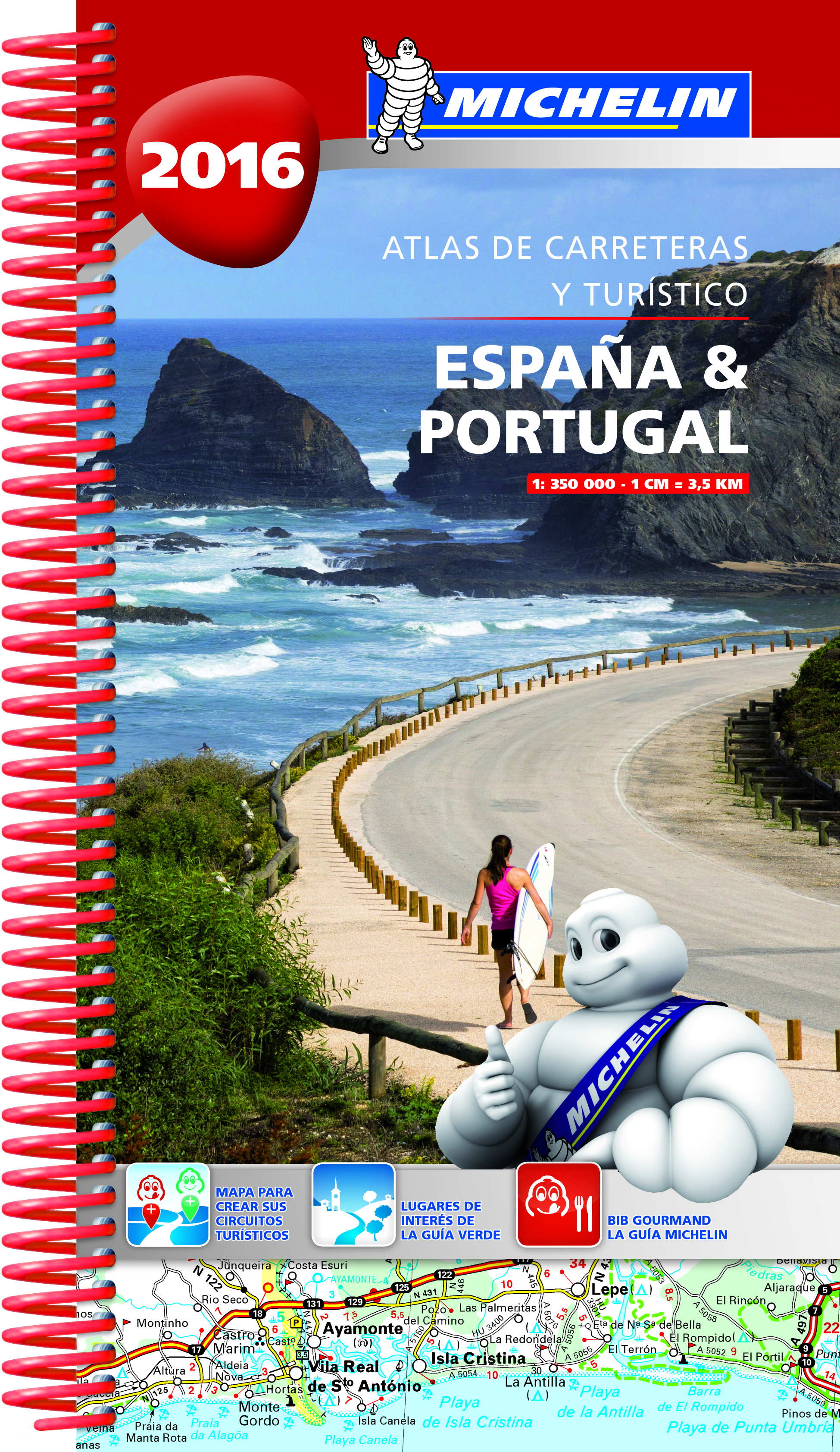 ATLAS MICHELIN ESPAÑA & PORTUGAL 2016